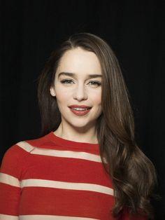 Emilia Clarke - I want my hair like this!