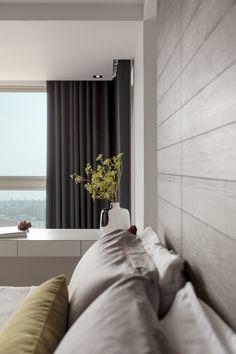 bedroom by FOLK DESIGN | LINKOU SMOOTH MODERN HOUSE