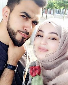 Cute Muslim Couples, Cute Couples Goals, Couple Goals, Cutest Couple Ever, Best Couple, Perfect Couple, Beautiful Couple, Romantic Pictures, Cute Pictures