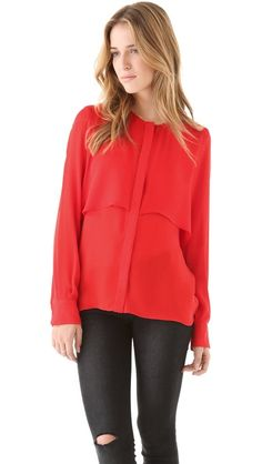 { Parker Two Layer Top [$198] }
