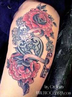 heart locker tattoo by mojoncio.deviantart.com on @deviantART