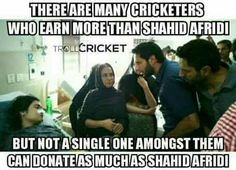 Only Afridi things