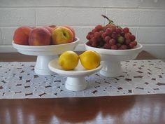 diy cake plates from painted terra cotta pots