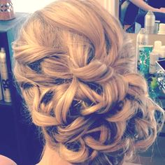 Wedding or prom updo- I did this last year