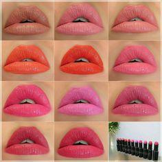 Wet n wild Megalast lipcolors review & swatches theamazingworldofj.blogspot.com