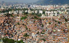 les bidonvilles de Caracas Caracas slums