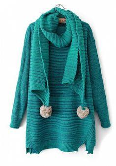 Sky Blue Cotton Acrylic V Neck Long Sleeve Plain Tops
