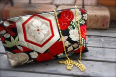 Obi / Kimono / Shoulder Bag / BK469 Beautiful by RummyHandmade, $40.00