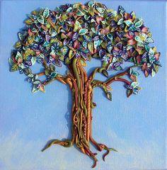 Polymer Clay Tree
