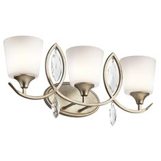 Casilda 3 Light Bath Vanity Light