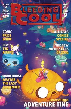 Bleeding Cool Magazine Issue 9 - March 2014 edition - Read the digital edition by Magzter on your iPad, iPhone, Android, Tablet Devices, Windows 8, PC, Mac and the Web.