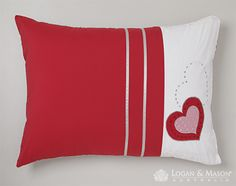 Molly Stawberry Heart Cushion