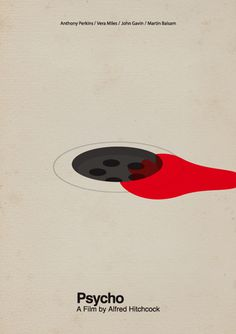 Poster on one of the most iconic scenes in cinema history.  #minimal #poster