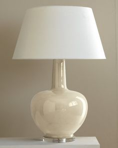 Porcelain Table Lamp; Garnet Hill