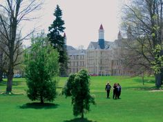 Traverse City, Michigan--the old State Hospital