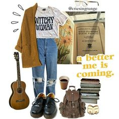 Source :  Lou Catero - Grunge Look Book