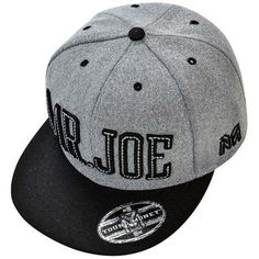 Boné Young Money MR Joe Aba Reta Snapback Cinza Preto - Loja Boné Mania 59c8be94ec7