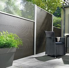 Composite fence panels - low maintenance