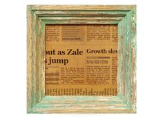 Frame No.100 -Aging Green Ivory-