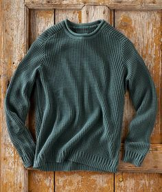 Mens Clothing Styles, Men's Clothing, Man Sweater, Ribbed Sweater, Mens Fashion, Fashion Outfits, Men's Collection, Sweater Outfits, My Outfit