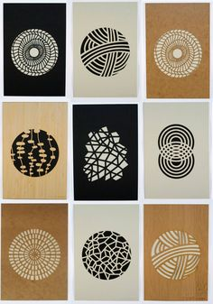 Beautiful laser cut prints by Molly M Design - The patterns' simplicity and intricacy is so visually appealing