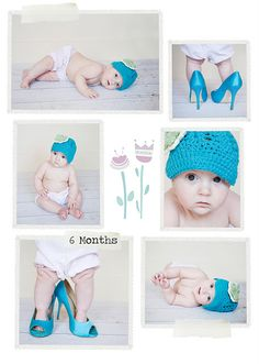 baby pictures ideas 6 months | Baby Photography Ideas / 6 Months Baby Girl: Meghan Rickard ...