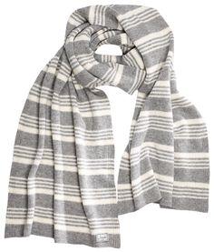 Komodo - Komodo Large Gracello Striped Wool Scarf - Fair Trade £19.99