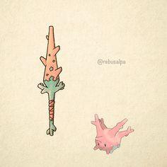 No. 222 - Corsola. #pokemon #corsola #lance #pokeapon