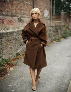 Max Mara Maxi Coat | Ulrikke Lund | Stylista.no