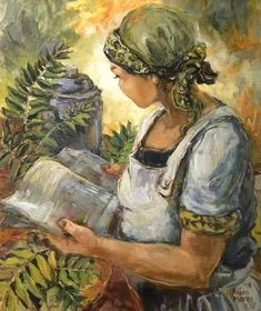 """ work the magic"" Woman Painting, Magic, Art, Art Background, Kunst, Gcse Art, Art Education Resources, Artworks"