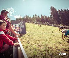 Jeep X Red Bull 400: Auch die Zuschauer schauten gespannt.