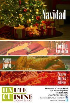 """Como ya estamos cerca.... """"Cocina Navideña"""" 19, 20, 25, 26, 27 y 28 de noviembre de 10 a 1 PM Tel:62801340"""
