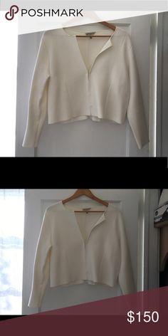 LK Bennett white cardigan LK Bennett white cardigan LK Bennett Jackets & Coats Blazers