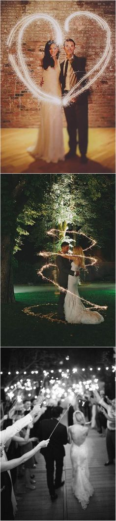 20 Magical Wedding Sparkler Send-Off Ideas for Your Wedding #weddings #weddingideas