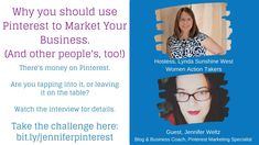Why you should use Pinterest to Market Your Business (and other people's... Set Up Email, Pinterest Marketing, Email Marketing, Other People, Dawn, Online Business, Interview, Blog, Blogging