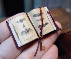 EV Miniatures Open Book 9 by evminiatures on Etsy