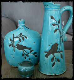 Ceramic jug  Ceramic Vase Ceramic glazed ball