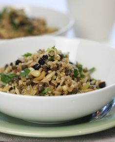 My version of an Ancient grains salad - I just LOVE this recipe! It's seriously good. And versatile! No really ....