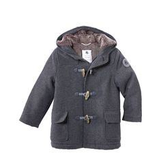 Love this wee coat..would be perfect for Camryn...PETIT BATEAU Pierre duffle coat