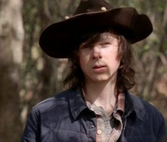 "The Walking Dead 5x15 ""Try""  Carl Grimes"