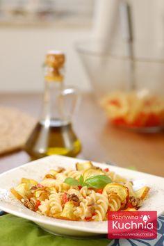 #Makaron z #cukinia z grilla - #przepis krok po kroku na makaron z grillowaną cukinią.  http://pozytywnakuchnia.pl/makaron-z-grillowana-cukinia/  #kuchnia