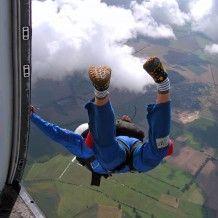 Charity skydive - Whoa! That's a long waaaay down!