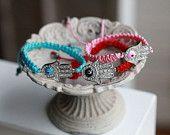 Lucky hamsa bracelet -Hamsa Bracelet-Hamsa Hand Necklace ---Hamsa Hand Pendant ---Evil Eye - Hand of Fatima