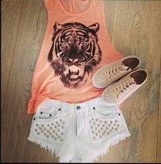 Finally, a nice bright summer outfit