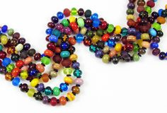 Simple bead necklaces for Spring!