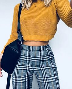 Outfits and flat lays we fell in love with. See more ideas about Casual outfits, Cute outfits and Fashion outfits. Fashion Trends, Latest Fashion Ideas and Style Tips. Look Fashion, 90s Fashion, Autumn Fashion, Fashion Trends, Fashion Pants, Womens Fashion, Fashion Ideas, Fashion Black, Fashion Vintage