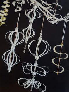 Papierornament ~ Paper  ornaments