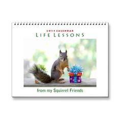 SOLD! Fun Life Lessons Squirrel Calendar 2015 by FunNaturePhotography. #squirrels #AnimalCalendar #FunnyCalendar http://www.zazzle.com/funnaturephotography*