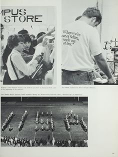Northeast Missouri State College | The 1970 Echo | Marching Band and Student…