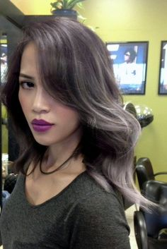 Kinh Do Hair Design - Chandler, AZ, United States. Balayage Ombre' Platinum Lavender? Check out : Facebook Holly Yen Pham By Holly 469 463 3682
